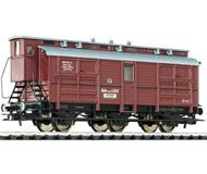 модель Liliput L235430 Трехосный вагон для перевозки лошадей. Принадлежность  KPEV. Эпоха I