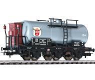 """модель Liliput L235498 Трёхосная цистерна """"Kallen""""с тормозной будкой. Принадлежность DR. Эпоха II"""