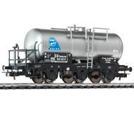 """модель Liliput L235499 Трёхосная цистерна """"B.B.O.-ORION"""" с тормозной площадкой. Принадлежность DB. Эпоха III"""