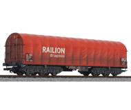 модель Liliput L235774 Шестиосный товарный вагон RAILION DB Logistics. Принадлежность  DB. Эпоха V
