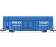 "модель Liliput L235806 Товарный вагон тип  Hbks. Принадлежность  DB, ""EUROPLASTIC"". Эпоха IV"