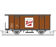 модель Liliput L294280 Грузовой вагон для перевозки пива компании Stiegl Bier. Принадлежность SLB. Эпоха III-V