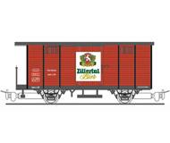 модель Liliput L294282 Вагон для перевозки пива компании Zillertal-Bier. Принадлежность Частная жд. Эпоха III