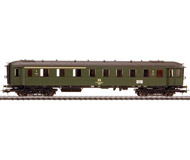 модель Liliput L328792 Пассажирский вагон 1/2 класса, тип ABuhe (38-14 637). Принадлежность DR. Эпоха IV