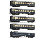 модель Liliput L330500 Пассажирский состав  Karwendelexpress из 5 пассажирских вагонов. Принадлежность DRG, Германия. Эпоха II