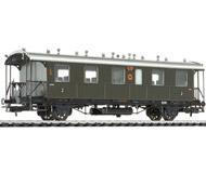модель Liliput L334000 Пассажирский вагон 2 класса, тип Bi Bad 12. Принадлежность DRG. Эпоха II