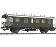 модель Liliput L334001 Пассажирский вагон 2/3 класса, тип BCi Bad 11. Принадлежность DRG. Эпоха II