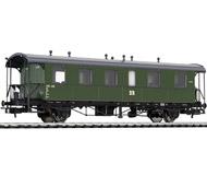 модель Liliput L334016 Пассажирский вагон 2 класса, тип Bip 330-486 (Bad 11). Принадлежность DR. Эпоха III