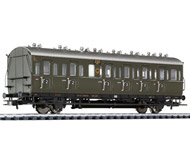 модель Liliput L334021 Пассажирский вагон 2/3 класса, тип BC 21. Принадлежность DRG. Эпоха II
