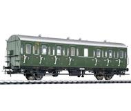 модель Liliput L334033 Пассажирский вагон 3 класса, тип C-21, 43 314 Mz. Принадлежность DB. Эпоха III