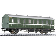 модель Liliput L334035 Пассажирский вагон 3 класса с грузовым купе, тип Ctr-21/37, 43 314 Mz. Принадлежность DB. Эпоха III