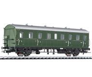 модель Liliput L334038 Пассажирский вагон 3 класса, тип Cd-27, 45 644 Mz. Принадлежность DB. Эпоха III
