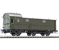 модель Liliput L334401 Багажный вагон, тип Pw3 Pr11. Принадлежность DRG. Эпоха II
