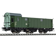 модель Liliput L334404 Багажный вагон, тип Pw3 720-285. Принадлежность DR. Эпоха III