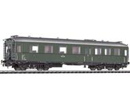 модель Liliput L334508 Пассажирский вагон 2/3 класса с тремя дверями, тип BC4i-35a Heidenau-Altenberger . Принадлежность BBO. Эпоха III