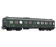 модель Liliput L334509 Пассажирский вагон 3 класса с тремя дверями, тип C4i-35a Heidenau-Altenberger . Принадлежность BBO. Эпоха III