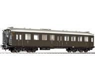 модель Liliput L334511 Пассажирский вагон 3 класса, тип C4i-35a . Принадлежность DB. Эпоха III