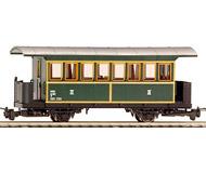 модель Liliput L344390 Пассажирский вагон 3 класса, тип Ci/S 107 BWB. Принадлежность Частная жд. Эпоха V