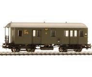 модель Liliput L381203 Почтово-багажный вагон, тип Pwpost4i Pr 11. Принадлежность DRG. Эпоха II