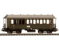 модель Liliput L381503 Пассажирский вагон 2/3 класса, BC4i Pr11. Принадлежность DRG. Эпоха II