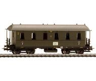 модель Liliput L381903 Пассажирский вагон 3 класса, C4itr Pr11. Принадлежность DRG. Эпоха II