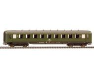 модель Liliput L383392 Пассажирский вагон 2 класса, тип Bue. Принадлежность DR. Эпоха IV