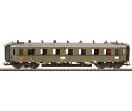 модель Liliput L384603 Пассажирский вагон 1/2 класса, AB4u Bad 01. Принадлежность DRG. Эпоха II