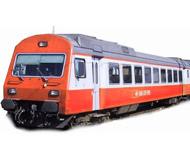 модель Liliput L388885 Пассажирский вагон 2 класса «Swiss Express» с кабиной управления, тип EW III. Принадлежность SBB. Эпоха IV/V