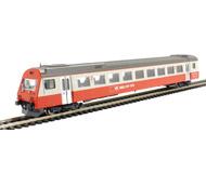модель Liliput L388886 Пассажирский вагон 2 класса «Swiss Express» с кабиной управления, тип EW III. Принадлежность SBB. Эпоха IV/V