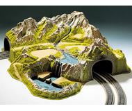 модель Noch 05200 Туннель угловой двухпутный 73x70x24 см.