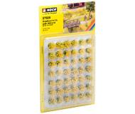 """модель Noch 07026 Мини-набор """"Пучки травы"""" 42 шт, цвет желтый - блекло-желтый, высота 12 мм"""