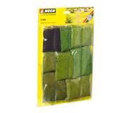 модель Noch 07066 Набор имитаторов травяных волокон, высота 1,5-2,5 мм.