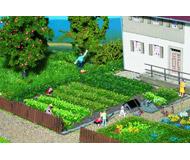 модель Noch 07139 Имитация кустов, полос и пучков травы.