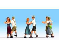 модель Noch 15857 Фигурки танцующих людей 6 шт.