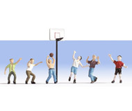 модель Noch 15882 Фигурки баскетболистов 6 шт + аксессуары.