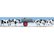 модель Noch 16658 Фигурки Коровы и бочка с водой