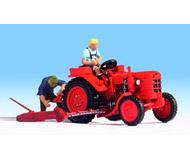 """модель Noch 16756 Трактор """"Fahr"""" и 2 фигурки людей."""