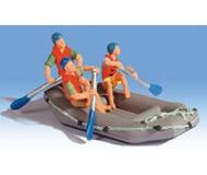 модель Noch 16818 Надувная лодка с фигурками людей.