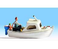 модель Noch 16822 Рыбацкая лодка с фигурой.