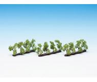 модель Noch 21530 Деревья на подложке 12 шт, высота 3,5 см