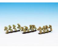 модель Noch 21532 Плодовые деревья на подложке 12 шт, высота 3,5 см