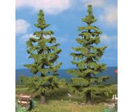 модель Noch 21831 Ели 2 шт, высота 13 и 14.5 см, цвет светло-зеленый.
