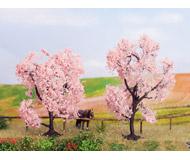 модель Noch 21996 Цветущие деревья 2 шт, высота 8 см и 9 см