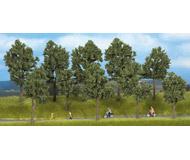 модель Noch 24105 Набор летних деревьев (без подставок) 5 шт., высота 10-14 см.