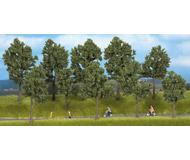 модель Noch 24215 Набор летних деревьев (без подставок) 10 шт., высота 4-14 см.