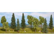 модель Noch 24220 Набор Смешанный лес 10 шт. высота 100-140 mm.