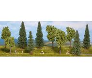 модель Noch 24230 Набор Смешанный лес 10 шт. высота 40-100 mm.