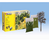 модель Noch 24301 Набор для декорирования деревьев высотой от 8 до 14 см