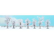 модель Noch 25075 Зимние деревья, 7 шт, высота 8-10 см