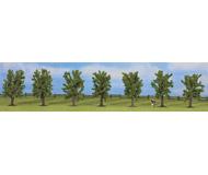модель Noch 25088 Набор лиственных деревьев 7 шт, высота 8 см.